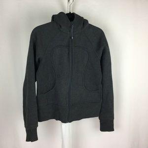 Lululemon Scuba Hoodie Charcoal Gray 8 M Jacket